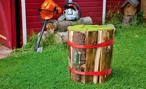 Hocker Selber Bauen : brennholz hocker ~ Lizthompson.info Haus und Dekorationen