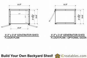 5x4 Generator Enclosure Plans