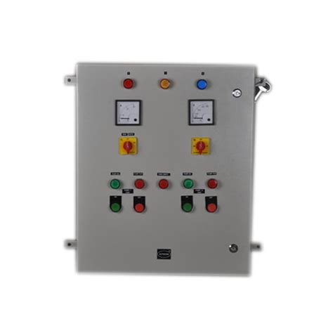 single phase 3 phase motor starter panel rs 7000 piece