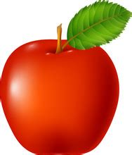 Red Apple Clipart Images - Public Domain Pictures - Page 1