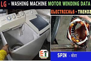 Lg Washing Machine Motor Winding Data Pitch Turn And Full