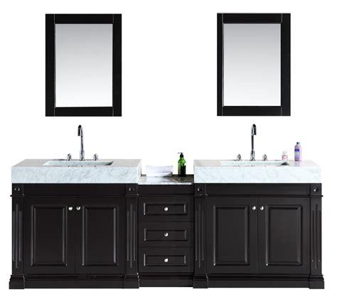 design element odyssey  double sink vanity set