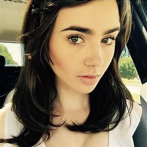 Lily Collins | See Which Celebrities Revealed Major Hair ...