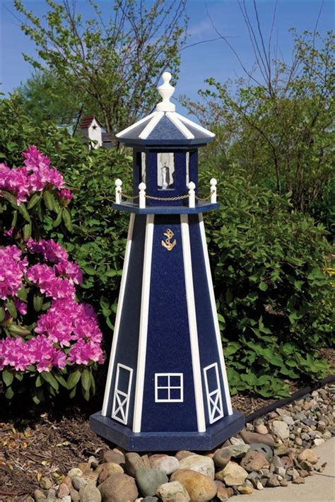 standard poly garden lighthouse  dutchcrafters amish