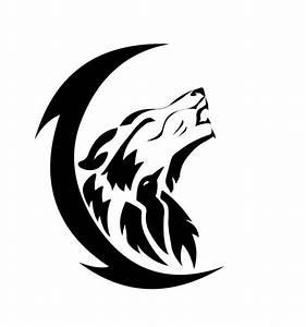 Tribal Wolf Tattoo : 43 tribal moon tattoos ~ Frokenaadalensverden.com Haus und Dekorationen