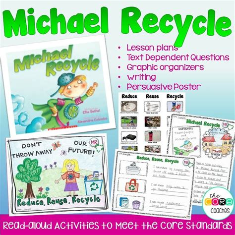 recycling lesson plans for preschool michael recycle read aloud activity recycling earth day 584