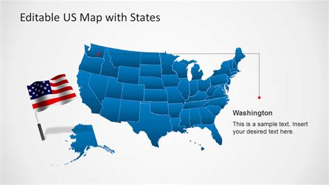 powerpoint map templates us map template for powerpoint with editable states