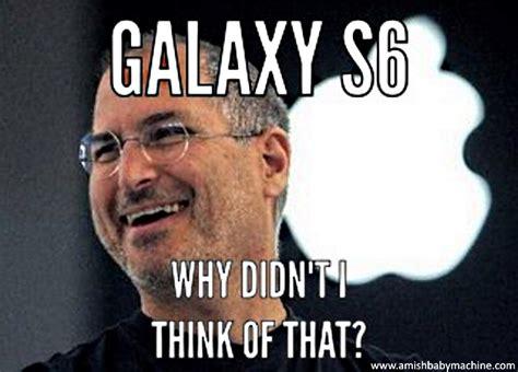 Steve Jobs Meme - iphone 6 amish baby machine podcast