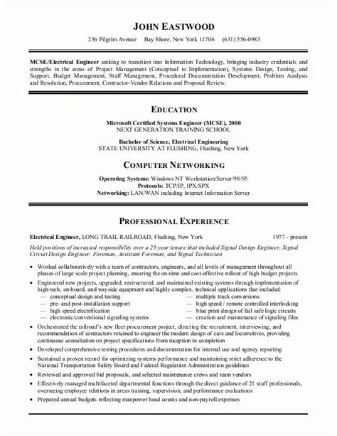 How A Resume Should Look Like by Excellent Resume Exles Ideas