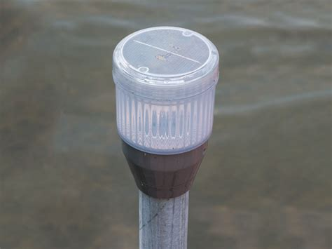 solar dock post lights