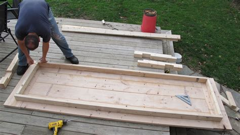 how to attach table top to legs how to build a diy farmhouse wedding table merrypad