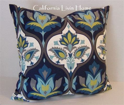 teal pillows 33 pacific blue pillow cover 20 quot x 20 quot navy
