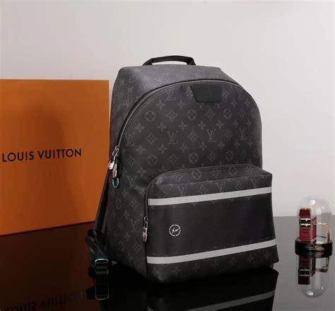 Men LV Louis Vuitton Apollo Backpack Monogram Handbags ...