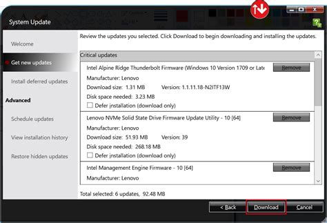 If no parameters for the command are specified, this tool guides you to input the required parameters step by step. How to Install Lenovo System Update and Update Windows ...