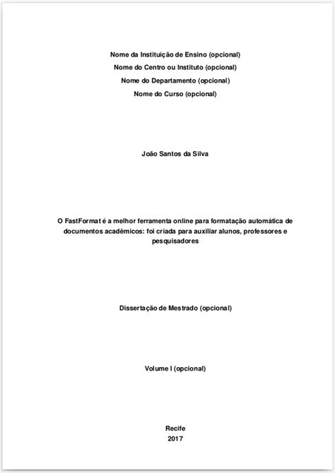formatação de tcc e monografia nas normas da abnt veja o que considerar na capa do seu tcc de acordo com a abnt