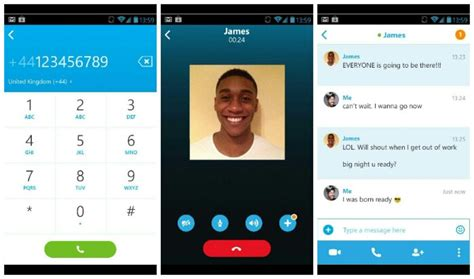 skype android microsoft update onenote and skype for android