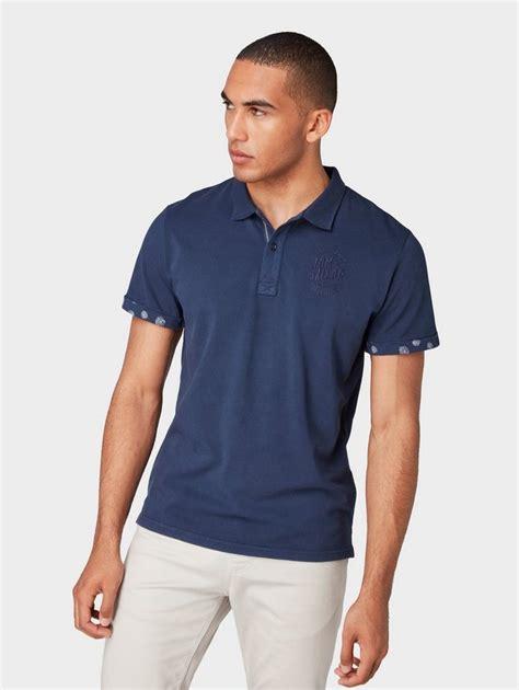 tom tailor  shirt poloshirt mit stickerei otto