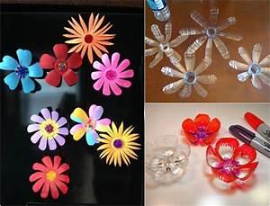 Blumen Basteln Fensterdeko : recycling basteln kinder pet flaschen blumen formen f r kinder pinterest recycling basteln ~ Markanthonyermac.com Haus und Dekorationen