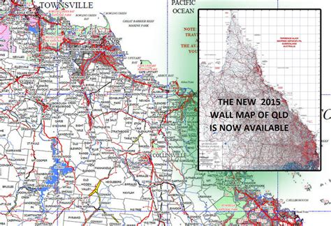 queensland pastoral stations laminated wall map map