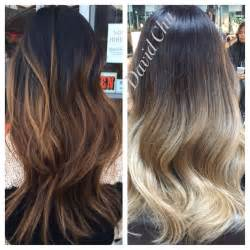 Balayage Highlights On Asian Hair