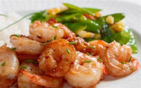 recette de cuisine regime recette crevettes sautées à l 39 ail économique et rapide