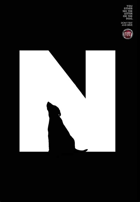negative space letters amazing illustrations that use negative space brilliantly 82866