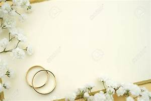 Blank wedding invitation stock photo cream ivory wedding for Blank golden wedding invitations