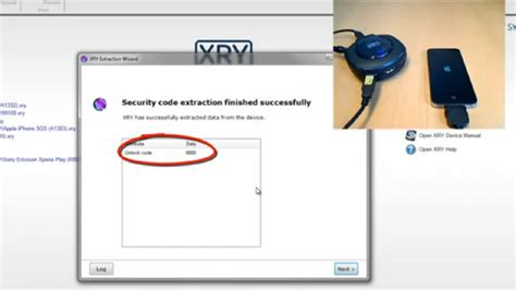 iphone unlock code xry security software extracts iphone lock code really