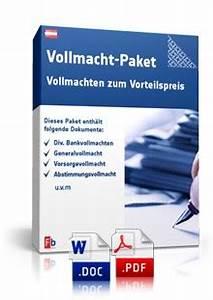 Vorsorgevollmacht Ohne Notar Gültig : vollmacht paket muster vollmachten zum download ~ Orissabook.com Haus und Dekorationen