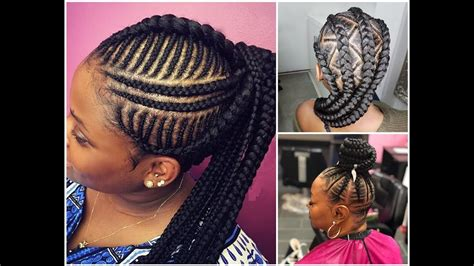 Braided African Hairstyles 2018