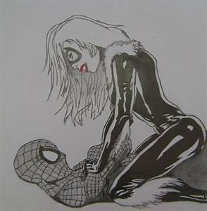 Spectacular Spiderman Black Cat Kiss