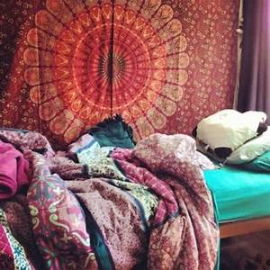 Scarf: home decor, cloth, bohemian, tapestry, hippie, hipp ...