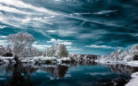 paysage d hiver exquis t 233 l 233 charger fonds d 233 cran gratuits pour les paysages de bureau hiver
