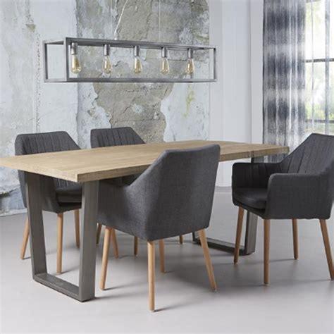 chaise tissu et bois chaise fauteuil avec accoudoirs en tissu et bois geni
