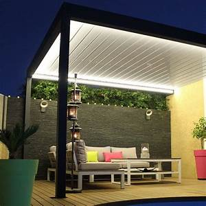 Pergola Bioclimatique Lounge Sur Mesure En Aluminium