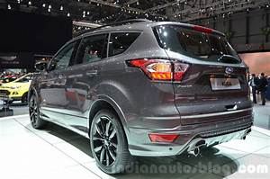 Ford Kuga 2016 : 2016 ford kuga facelift rear three quarter at the 2016 ~ Nature-et-papiers.com Idées de Décoration