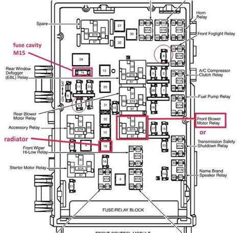 chrysler town country questions front fan   run
