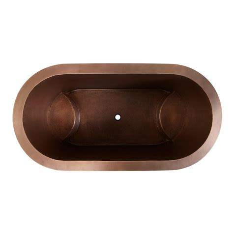 Double Walled Copper Bathtub   Copper Tubs   Bathtubs