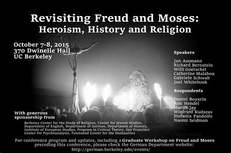 revisiting freud moses heroism history religion conference
