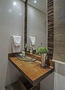 Deko Ideen Holz : badezimmer deko ideen ~ Lizthompson.info Haus und Dekorationen