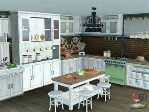 custom sims 3 country kitchen