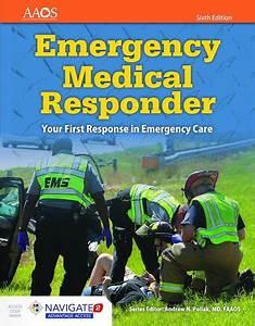 Emergency Medical Responder  First On Scene  10  E Workbook