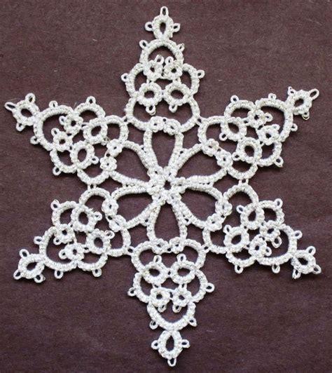 tatting fool elegant snowflake tatting