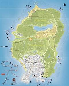 GTA 5 Submarine Pieces Locations Map And Video Guide