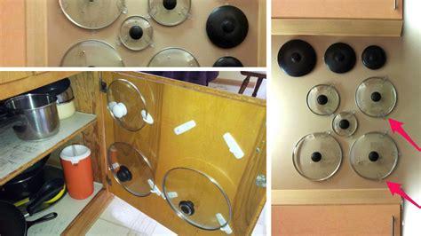 bien organiser sa cuisine 5 façons de ranger ses couvercles de casserole