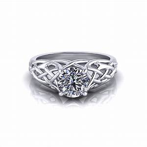 Woven engagement ring jewelry designs for Woven wedding ring