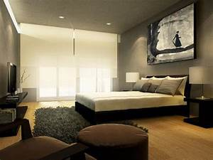 Wall decor for master bedroom : Bloombety contemporary master bedroom wall decorating