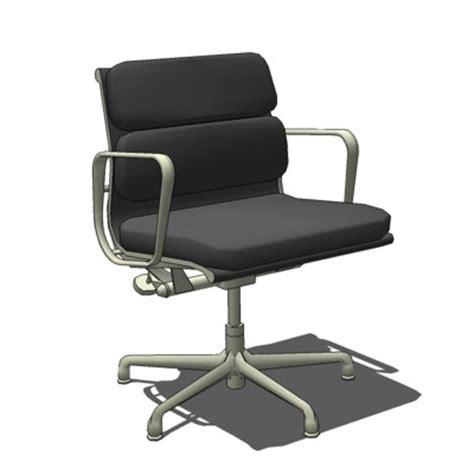 dwr eames soft pad management chair eames soft pad management chair 3d model formfonts 3d