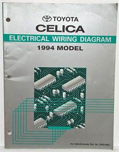 1994 Toyota Celica Electrical Wiring Diagram Manual