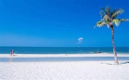 Ocean Summer Beach Desktop Wallpapers Background Scenery